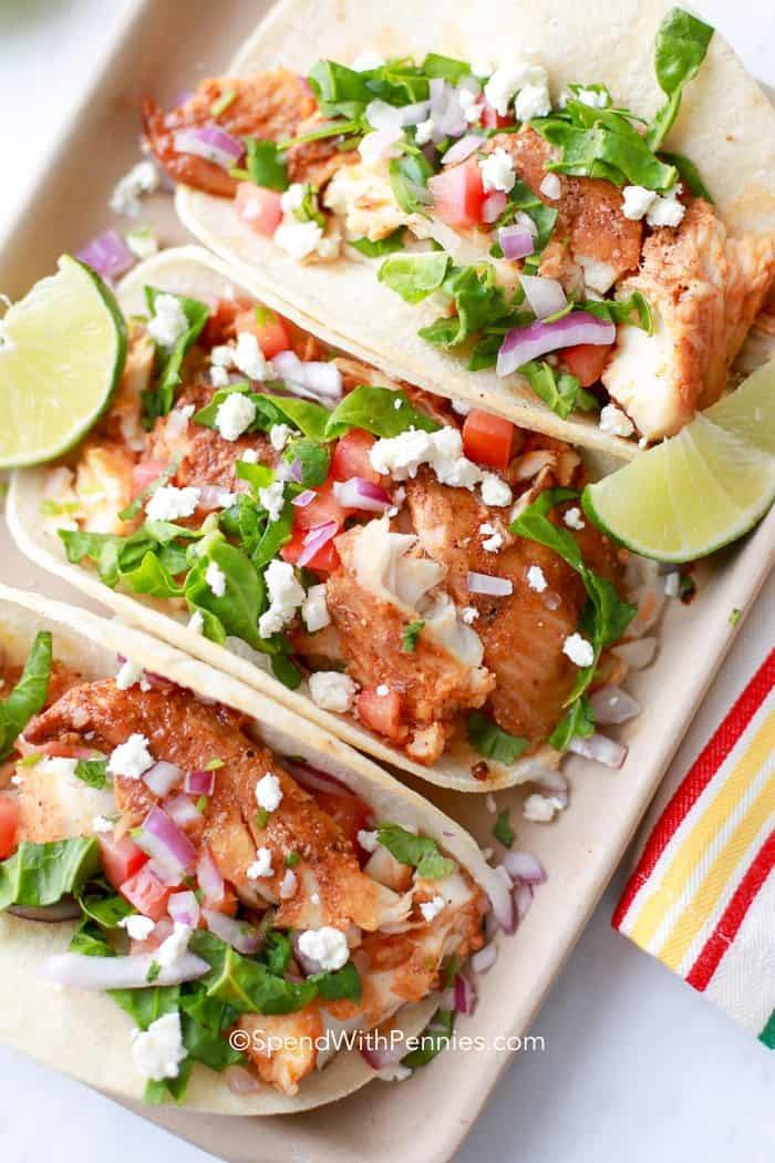 Easy Fish Tacos Recipe | HeyFood — heyfoodapp.com