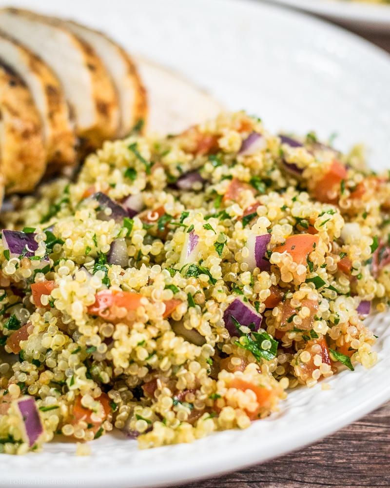 Quinoa Tabbouleh Recipe Recipe | HeyFood — heyfoodapp.com