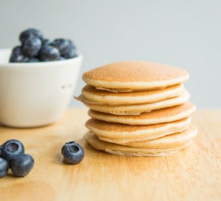 Healthy pancakes Recipe | HeyFood — heyfoodapp.com