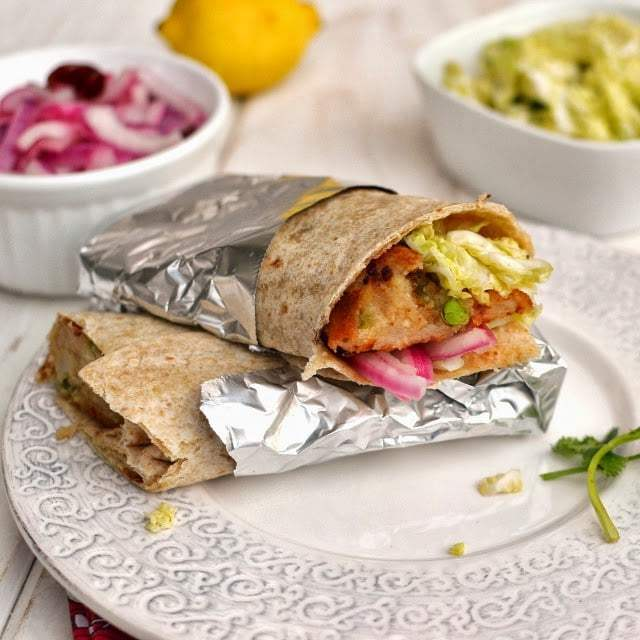 Aloo Tikki Wrap Recipe | HeyFood — heyfoodapp.com