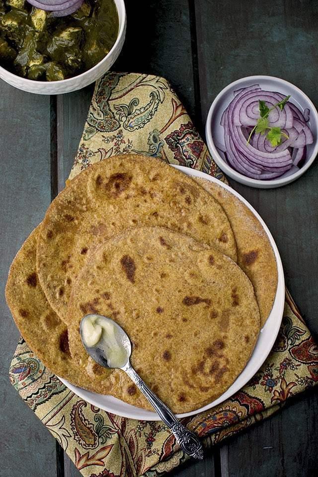 Spelt Sweet Potato Paratha Recipe | HeyFood — heyfoodapp.com