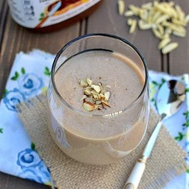 Banana Nutella Nut Milkshake Recipe | HeyFood — heyfoodapp.com