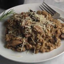 Chicken and Mushroom Risotto Recipe | HeyFood — heyfoodapp.com