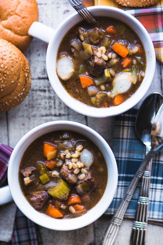 Beef Barley Soup Recipe | HeyFood — heyfoodapp.com