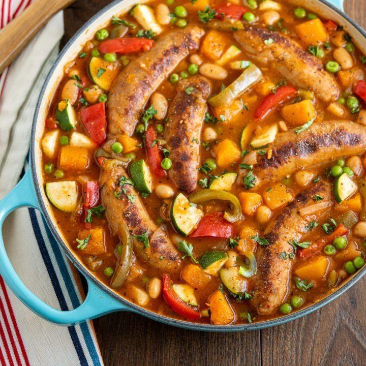 Hearty Sausage Casserole Recipe | HeyFood — heyfoodapp.com