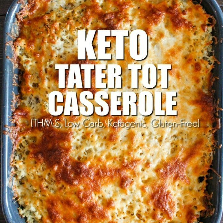 Keto Tater Tot Casserole Recipe | HeyFood — heyfoodapp.com