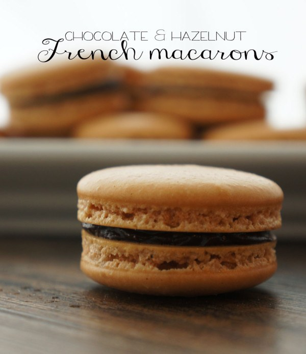 Chocolate Hazelnut Macarons Recipe | HeyFood — heyfoodapp.com