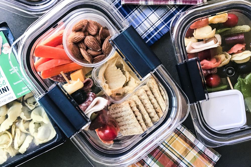 Tortellini Skewer Lunch Prep Boxes Recipe   HeyFood — heyfoodapp.com