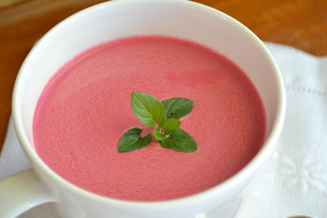 Chilled Beet Soup Recipe | HeyFood — heyfoodapp.com