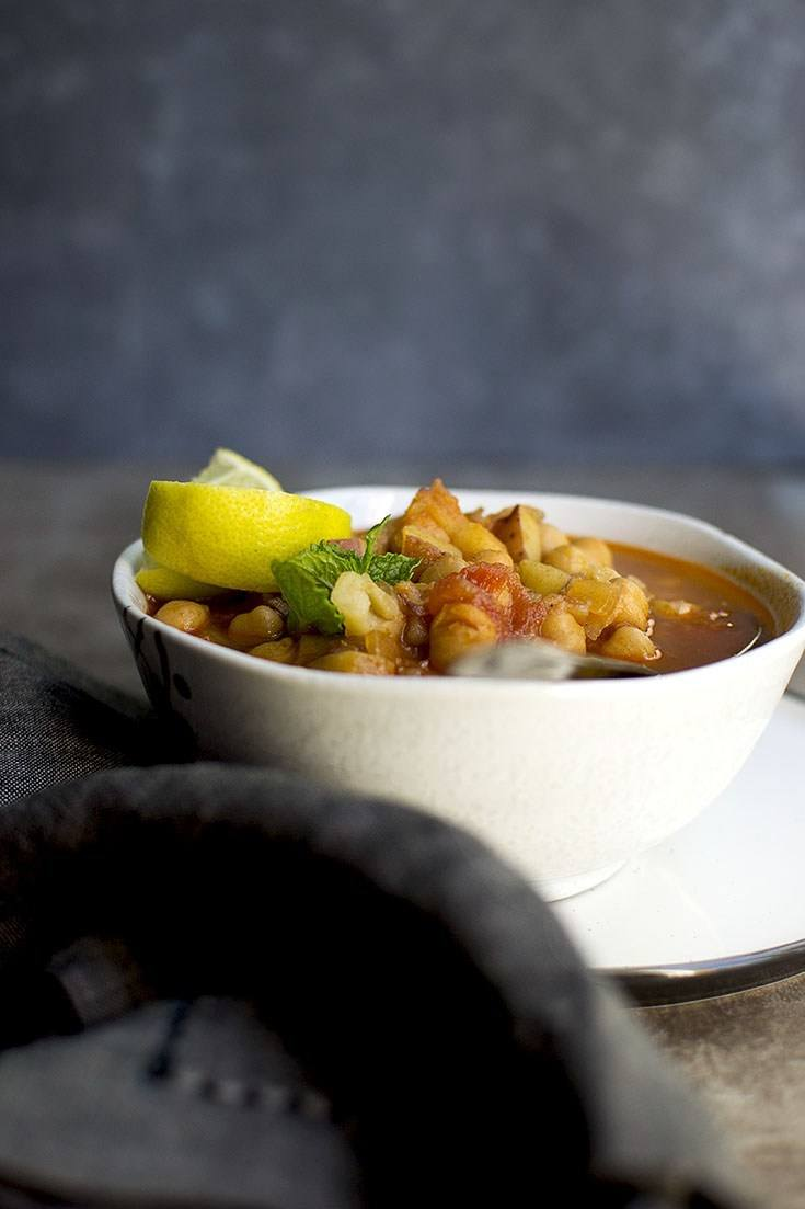 Moroccan Chickpea Soup Recipe | HeyFood — heyfoodapp.com