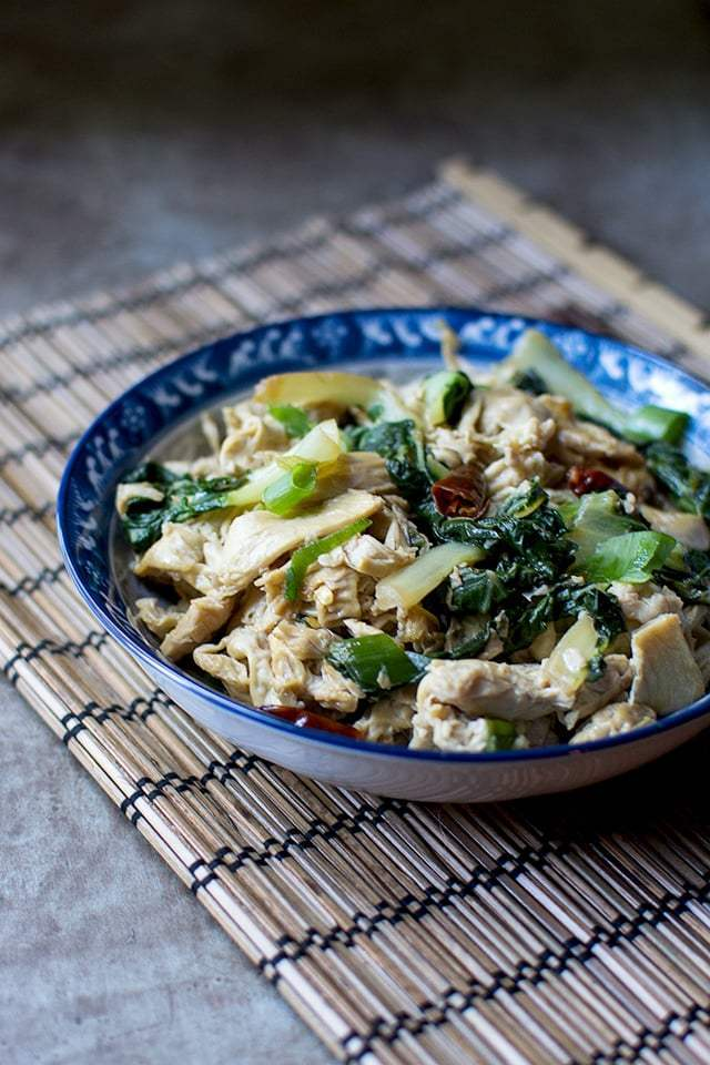 Chinese Tofu Skin Noodles (Fu Pei Guen) Recipe | HeyFood — heyfoodapp.com