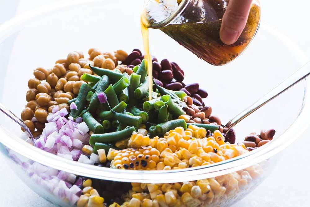 Charred Corn and Bean Salad Recipe | HeyFood — heyfoodapp.com