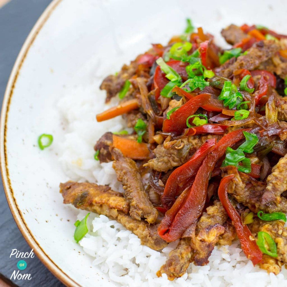 Low Syn Crispy Chilli Beef Recipe | HeyFood — heyfoodapp.com