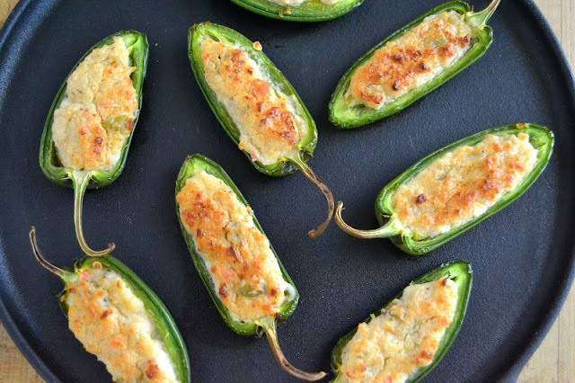 It's 5 O'Clock Somewhere Friday: Baked Jalapeno Poppers Recipe | HeyFood — heyfoodapp.com