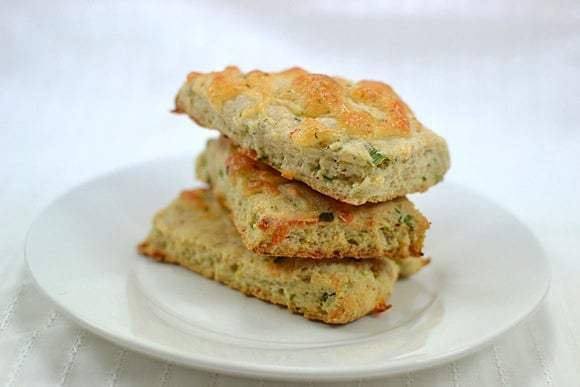 Scallions & Cheese Scones Recipe | HeyFood — heyfoodapp.com