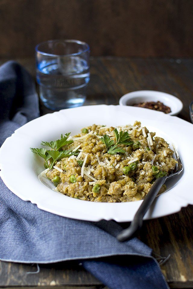 Cauliflower Risotto Recipe | HeyFood — heyfoodapp.com