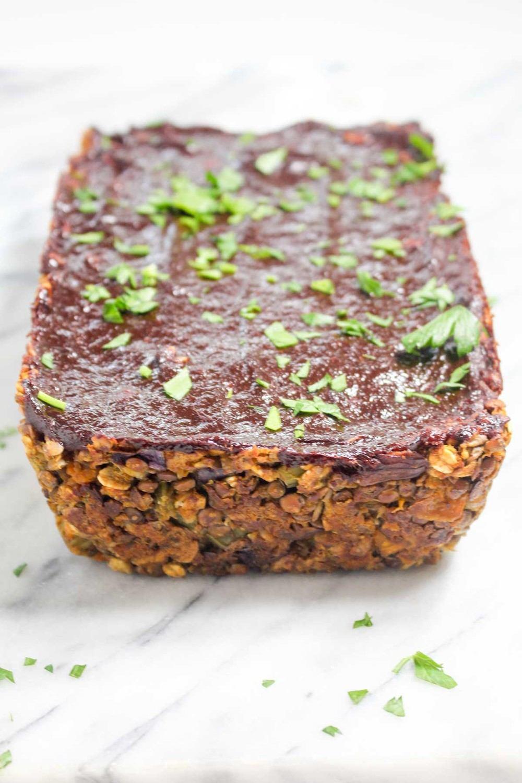 Butternut Squash Lentil Loaf  Recipe | HeyFood — heyfoodapp.com