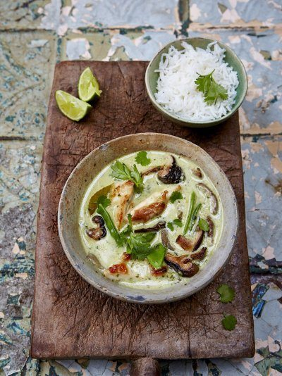 Thai Green Chicken Curry Recipe | HeyFood — heyfoodapp.com