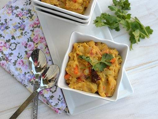 Mixed Vegetable Upma Recipe | HeyFood — heyfoodapp.com