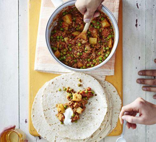 Bombay Lamb Wraps Recipe | HeyFood — heyfoodapp.com