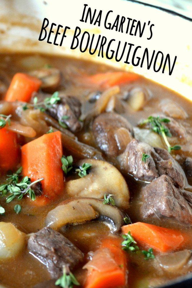 Ina Garten's Beef Bourguignon Recipe | HeyFood — heyfoodapp.com