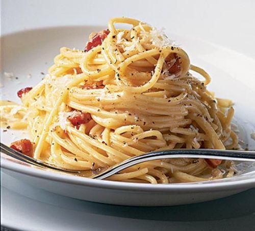 Ultimate Spaghetti Carbonara Recipe Recipe | HeyFood — heyfoodapp.com