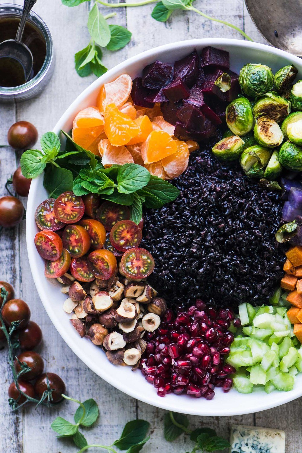 Winter Black Rice Salad Recipe | HeyFood — heyfoodapp.com