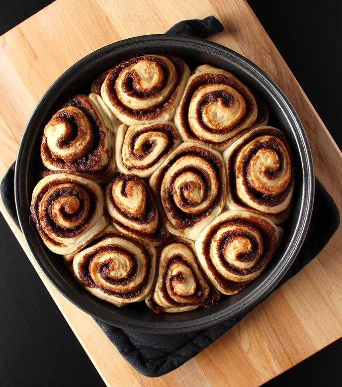 Vegan Cinnamon Rolls Recipe | HeyFood — heyfoodapp.com
