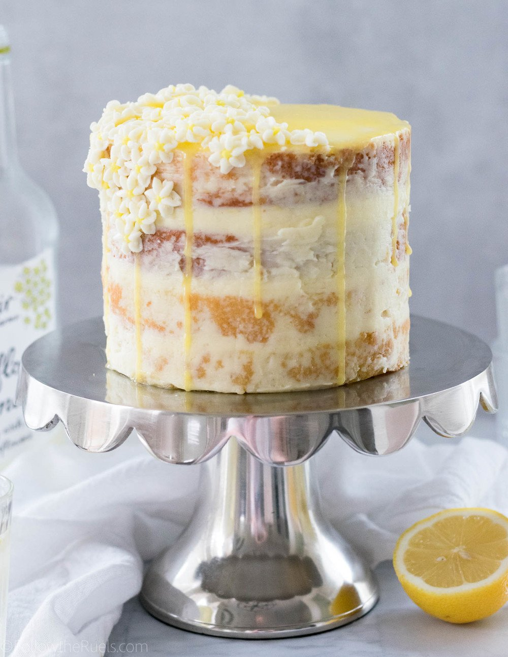Lemon Elderflower Cake Recipe | HeyFood — heyfoodapp.com