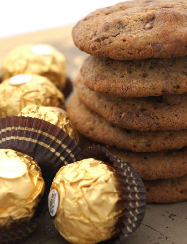 Ferrero Rocher Cookies Recipe | HeyFood — heyfoodapp.com