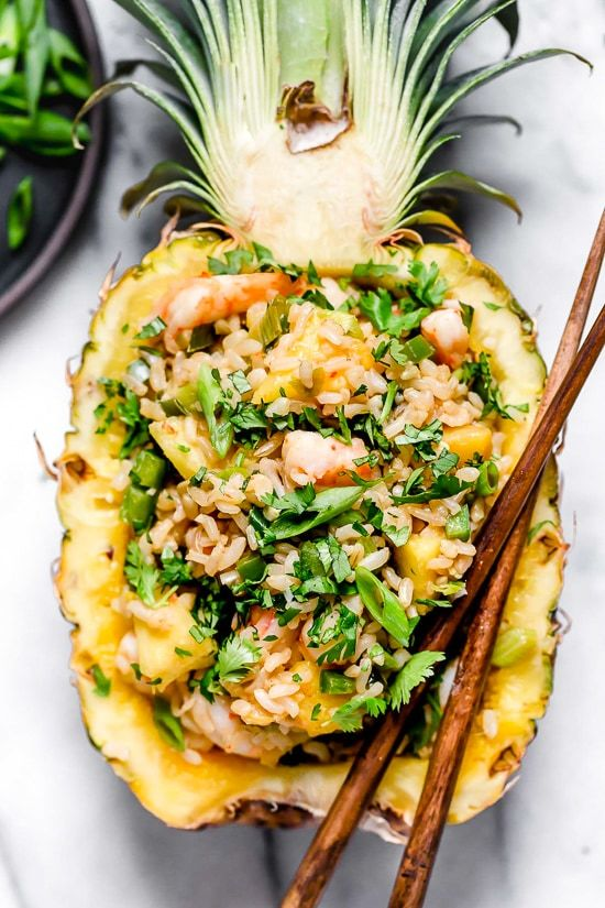 Pineapple Shrimp Fried Rice Recipe | HeyFood — heyfoodapp.com