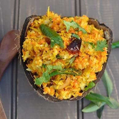 Carrot-Coconut Rice Recipe | HeyFood — heyfoodapp.com