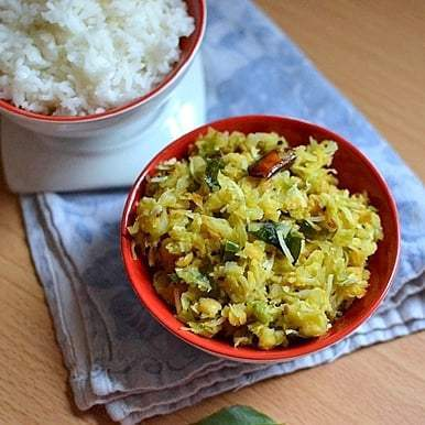Cabbage-Chana dal Curry Recipe | HeyFood — heyfoodapp.com