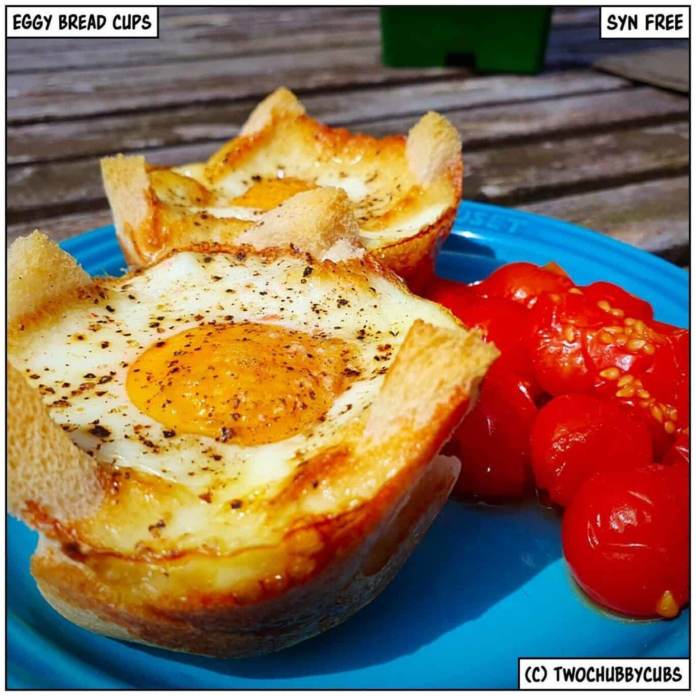 Syn-free Eggy Bread Cups Recipe | HeyFood — heyfoodapp.com