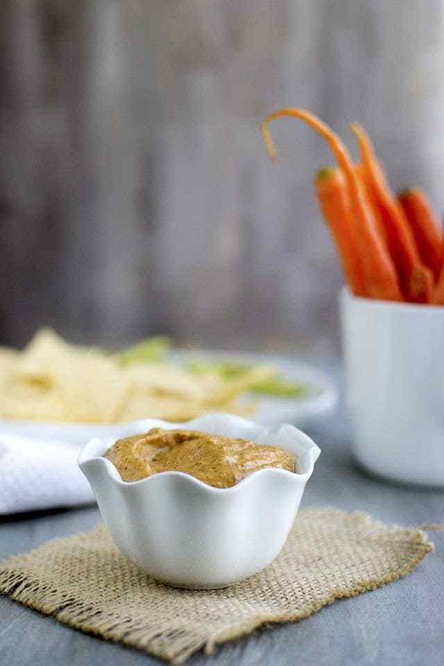 Carrot Yogurt Dip Recipe | HeyFood — heyfoodapp.com
