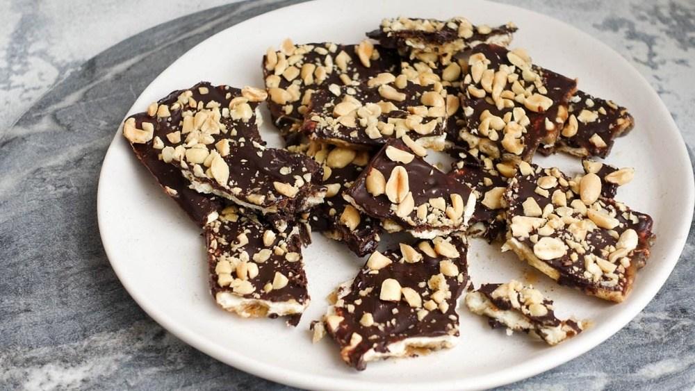 Healthy Caramel Slice AKA Crack Recipe   HeyFood — heyfoodapp.com