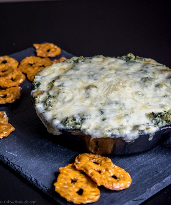 Kale Artichoke Dip Recipe | HeyFood — heyfoodapp.com