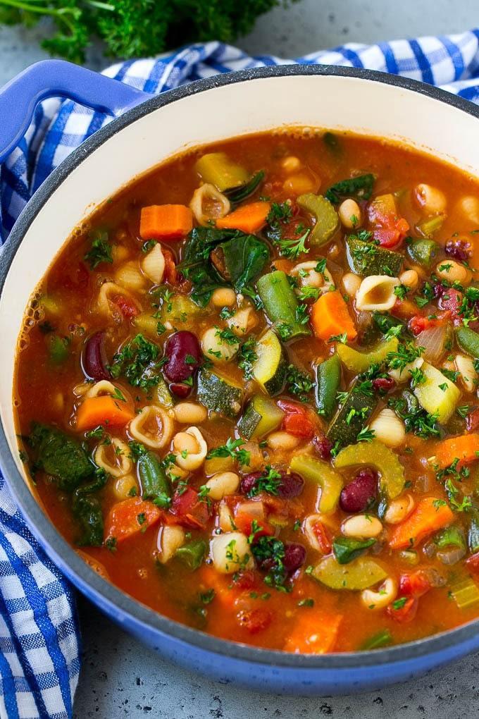 Olive Garden Minestrone Soup Recipe | HeyFood — heyfoodapp.com