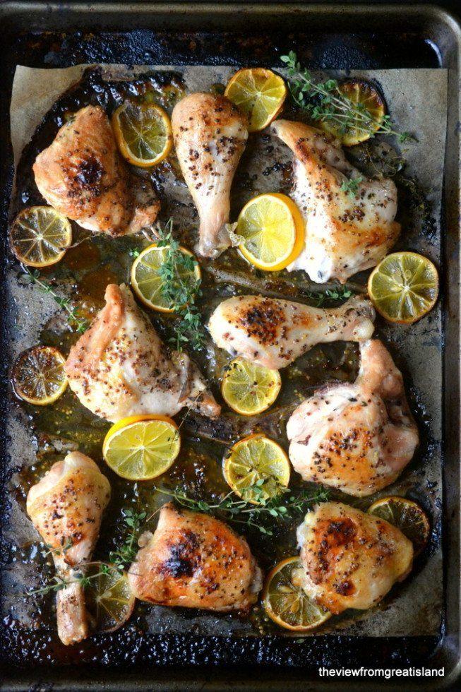 Meyer Lemon Roast Chicken Recipe | HeyFood — heyfoodapp.com