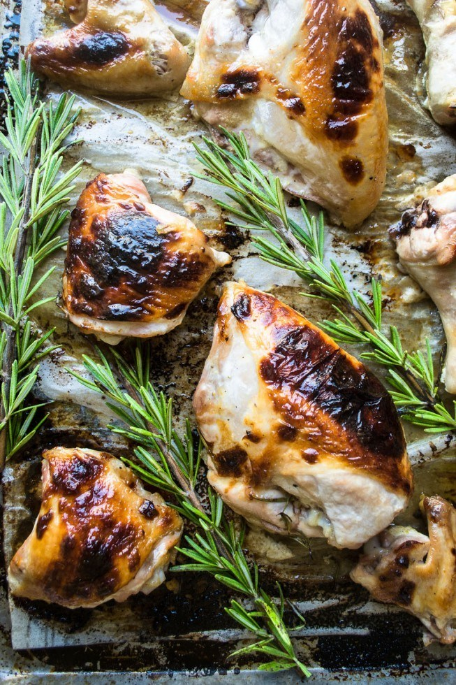 Honey Buttermilk Roast Chicken Recipe | HeyFood — heyfoodapp.com