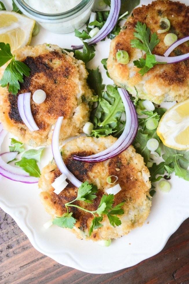 Irish Fish Cakes with 30 Second Tartar Sauce Recipe   HeyFood — heyfoodapp.com