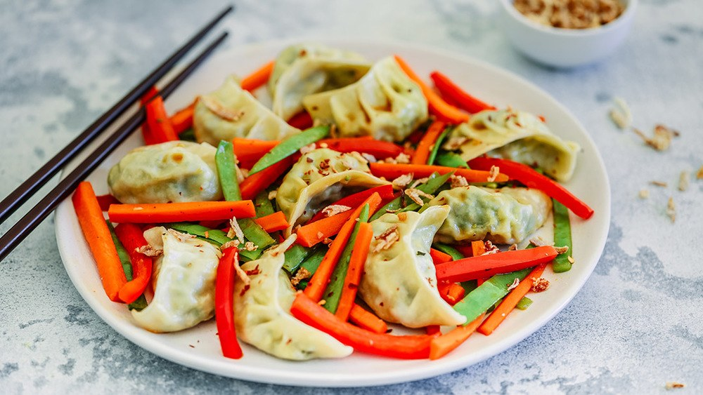Dumpling Stir Fry Recipe | HeyFood — heyfoodapp.com
