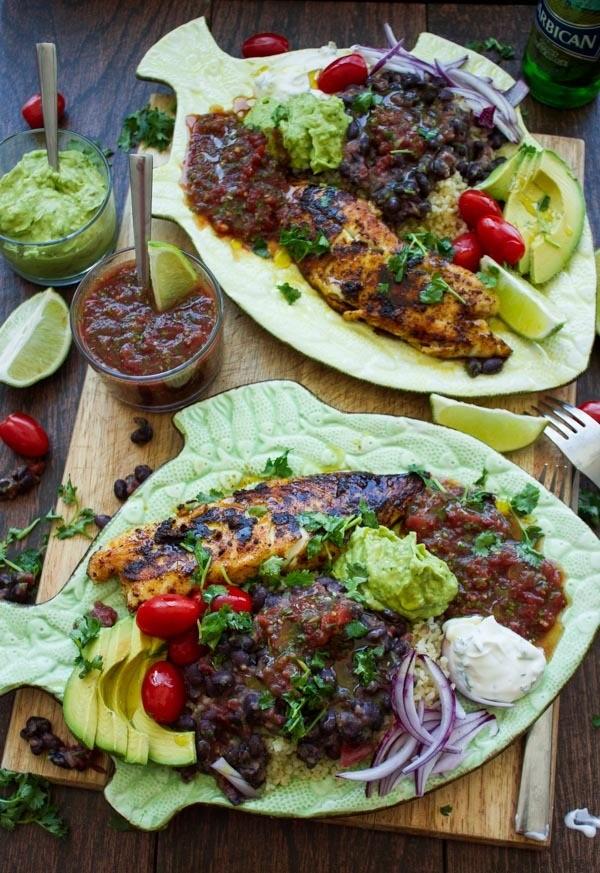 30 Mins Mexican Tilapia Fish Dinner Recipe   HeyFood — heyfoodapp.com