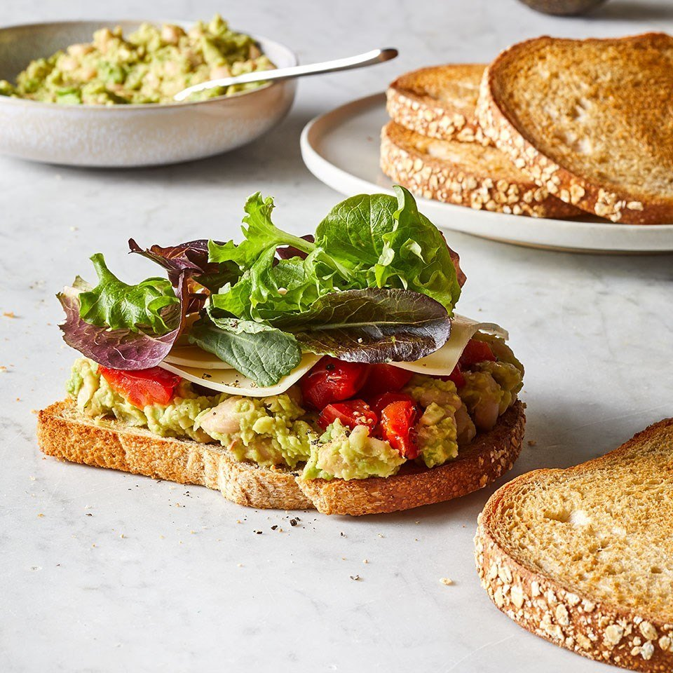 White Bean & Avocado Sandwich Recipe | HeyFood — heyfoodapp.com