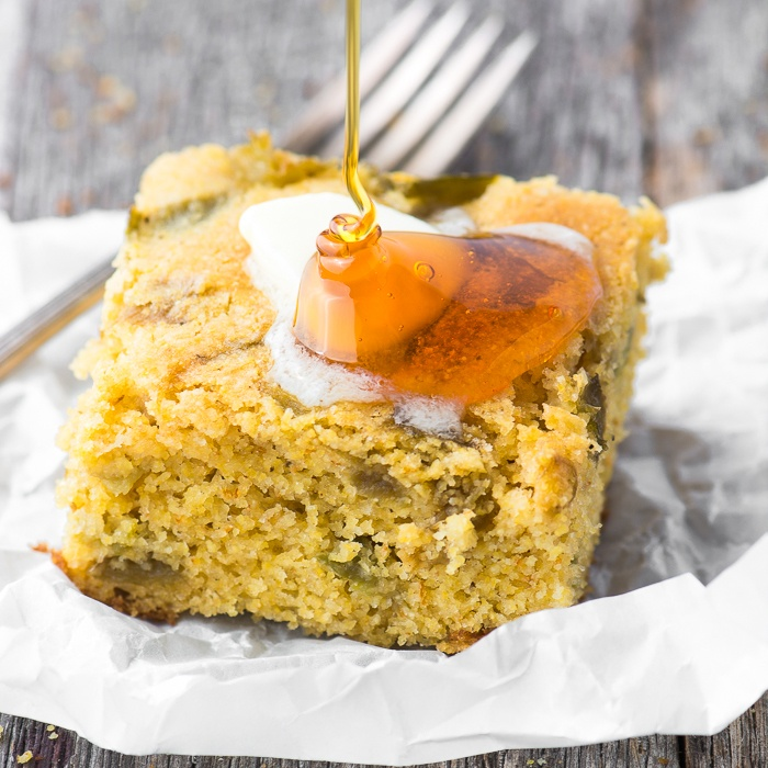 Hatch Green Chile Cornbread Recipe | HeyFood — heyfoodapp.com