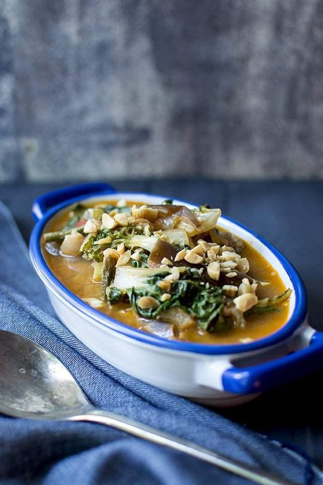 Vegetarian Kare Kare Recipe | HeyFood — heyfoodapp.com
