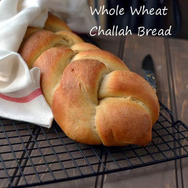 Whole Wheat Challah Bread Recipe | HeyFood — heyfoodapp.com