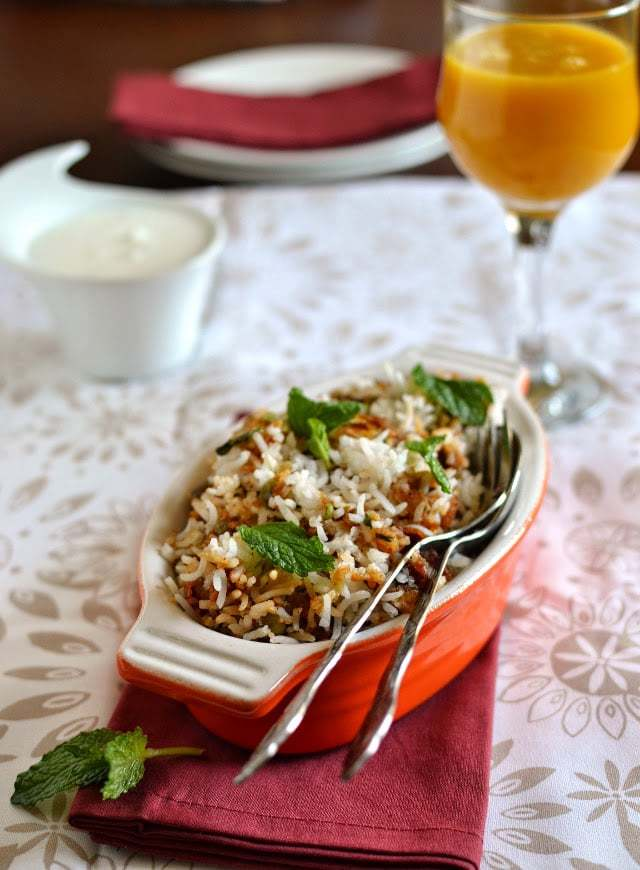 Chettinad Vegetable Biryani Recipe | HeyFood — heyfoodapp.com