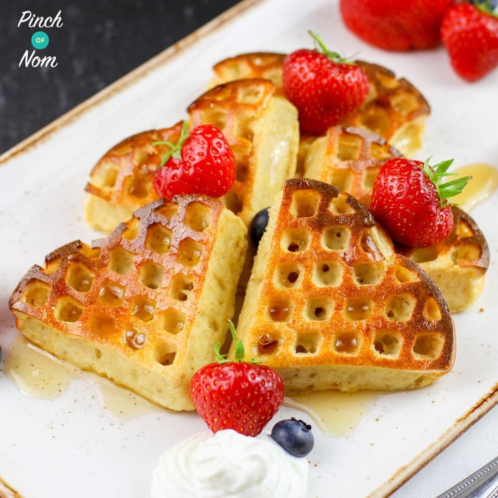 Strawberry And Vanilla Waffles Recipe | HeyFood — heyfoodapp.com