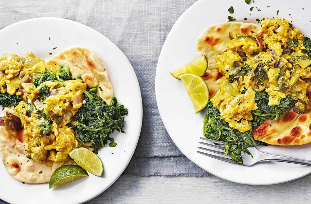 Spiced Scrambled Eggs Recipe | HeyFood — heyfoodapp.com